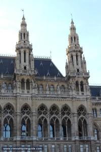 21.02.25 Vienna, municipio (Rathaus), particolare