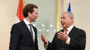 21.03.03 Sebastian Kurz e Benjamin Netanyahu