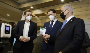 21.03.05 Matte Federikse, Sebastian Kurz, Benjamin Netanjahu