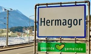 21.03.09 Hermagor, tabella stradale