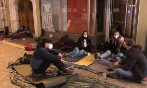 21.03.28 Villaco, protesta per profughi Moria
