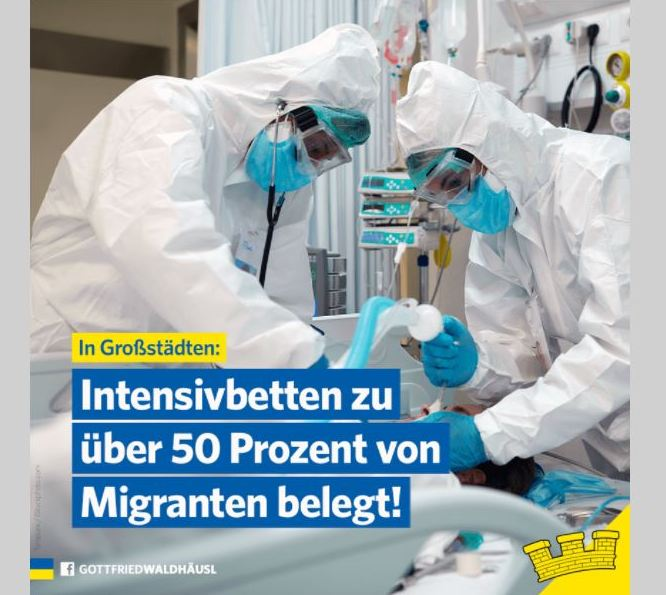 21.04.30 Gottfried Waldhäusl, posta Fb su richiedenti immigrati