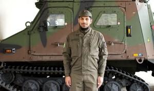 21.06.04 Daniel Todorovic, recluta a Lienz