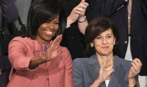 21.07.14 Michelle Obama e Victoria Kennedy