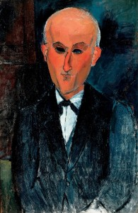 Max Jacob, c.1916-17 (oil on canvas)
