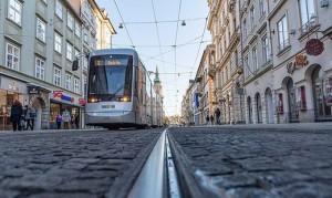 21.08.23 Graz, tram in Herrengasse