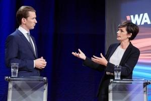 21.09.12 Elezioni 2019, Sebastian Kurz e Pamela Rendi-Wagner - Copia