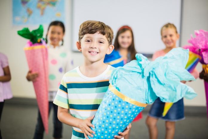 21.09.14 Schultüte per primo giorno di scuola