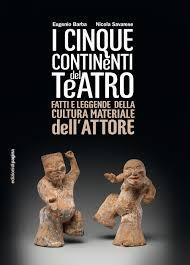 """il libro """"I cinque continenti del teatro"""""""