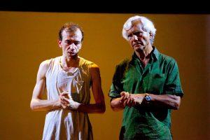 Lorenzo Gleijeses e Eugenio Barba
