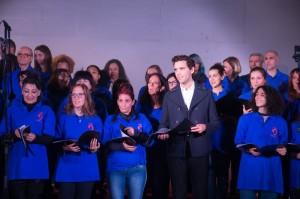 Il Coro Papageno dell'associazione Mozart 14 nato nel carcere di Bologna, con Mika