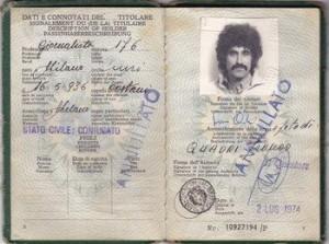 Il passaporto di Franco Quadri