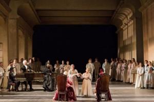 """Un'altra scena da """"Le Nozze di Figaro"""" strehleriane"""