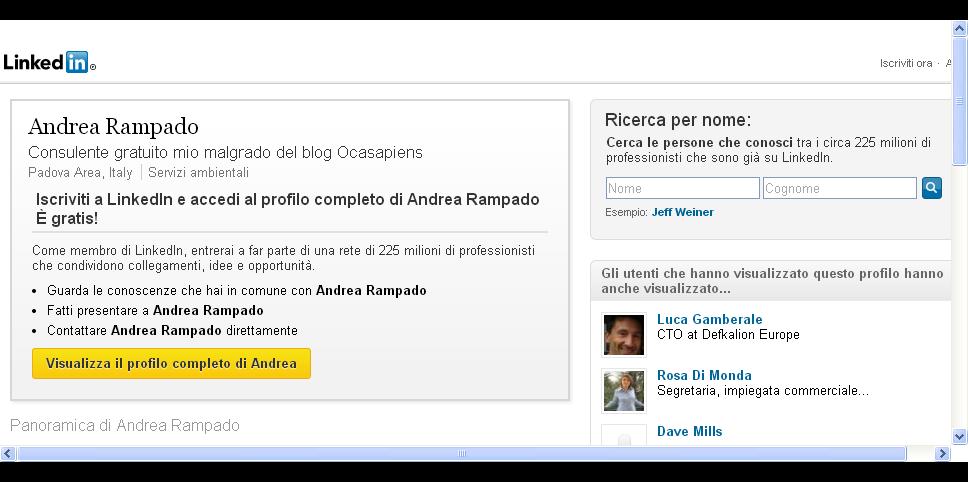 Andrea Rampado - Italia   LinkedIn