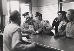 Moore MLK arrested