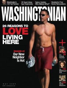 Obama shirtless