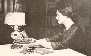 Woolf with photos
