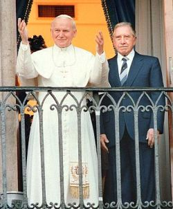 CHILE-PINOCHET-POPE