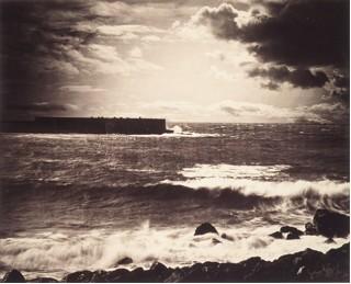 Gustave Le Gray, La grande onda, sète, 1856