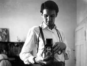 Un autoritratto giovanile di Italo Zannier