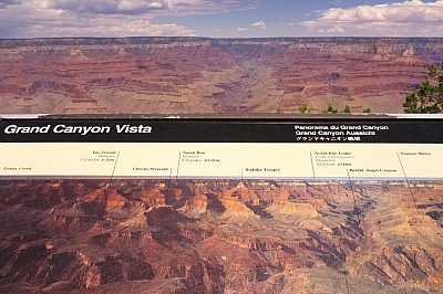 Yavapai Point, Grand Canyon del Colorado, 2012. Foto di Michele Smargiassi, licenza Creative Commons: attribuzione, non commerciale, non modificabile, share-alike