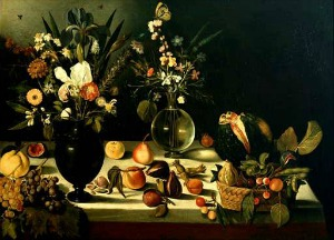 Caravaggio, Natura morta