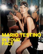 Mario Testino, Kate Moss, London 2006. © Mario Testino. Poster from the exhibition In Your Face by Mario Testino at the Museum of Fine Arts, Boston.