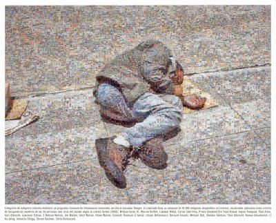 """Joan Fontcuberta, """"Googlegram 9: Homeless"""", 2005. Joan Fontcuberta, g.c."""
