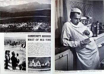 """W. Eugene Smith, pagina da """"The Country Doctor"""", servizio per Life, settembre 1948"""