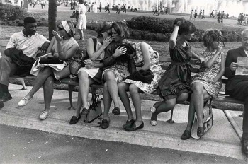 Garry Winogrand, World's Fair, New York City, 1964. The Estate of Garry Winogrand, g.c.