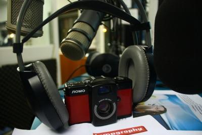 Fotografia e radio, simbiosi in immagine. Foto di Daniele Ferrini, g.c.