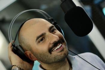 Daniele Ferrini a Poli.Radio. Foto di Sonia Orsucci, g.c.