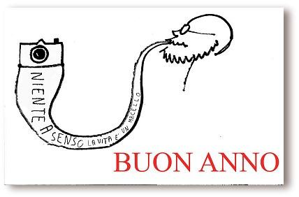 Un biglietto di auguri di Ferdinando Scianna