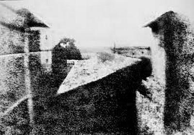 Joseph Nicéphore Niépce, Veduta dalla finestra di Gras, 1826
