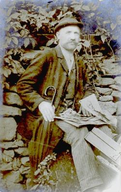 L'ambulante tesino  Augusto Galvagno, fine Ottocento