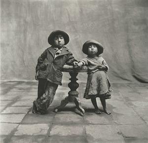 Cuzco Children, 1948, Copyright © by Condé Nast  Publications, Inc., g.c.