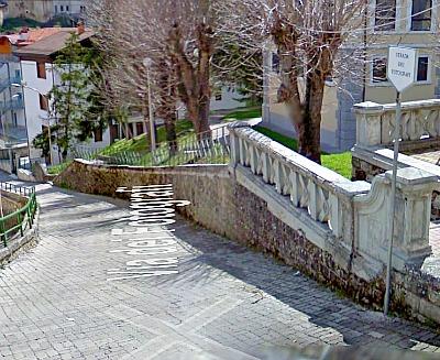 Via dei Fotografi, Scanno. Screenshot da Google Street View