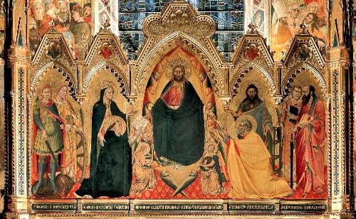 8_Andrea_di_Cione_Orcagna,_Strozzi_Altarpiece._1354-57,_Santa_Maria_Novella,_Florence.