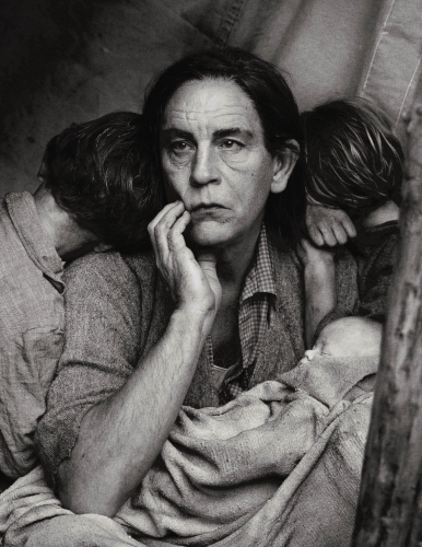 73 MALKOVICH Lange. Migrant Mother