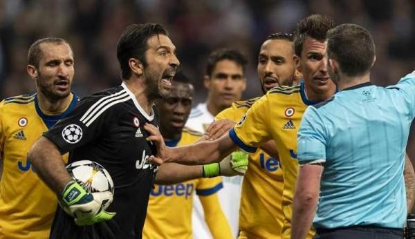 Soccer: UEA Champions League Quarter final 2st leg: Real Madrid  1-3 Juventus