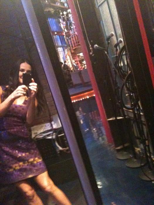 Nel backstage di David Letterman