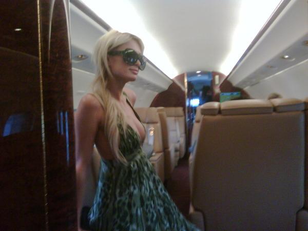 In aereo da Madrid verso Cannes