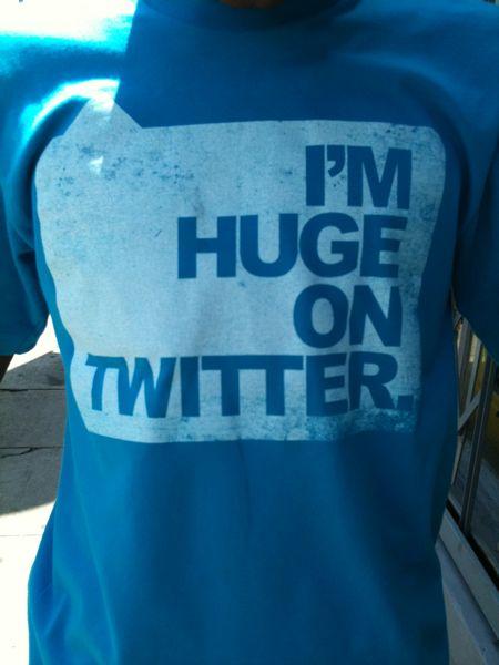 Sono enorme su Twitter