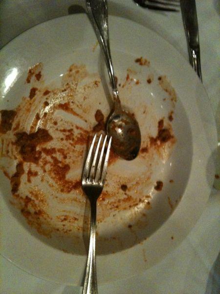 Campione del mondo di piatto pulito