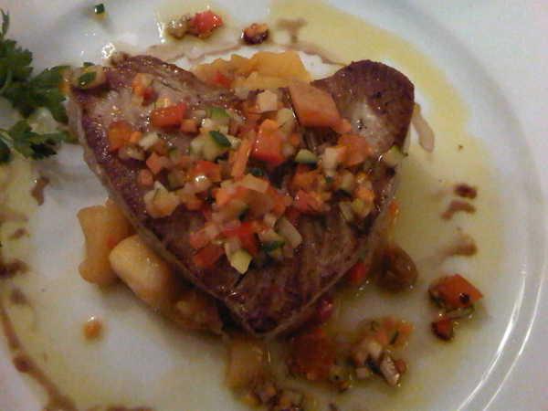 Una bistecca a forma di cuore