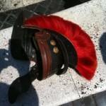 A roman lost hat....