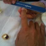 Manicure moment