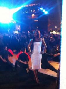 Naomi sul red carpet