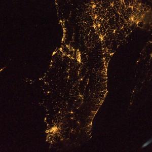 Il centro Italia  Credit: ESA/NASA
