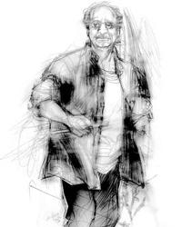 Annibale Elia nel disegno di Francesco Ardizzone